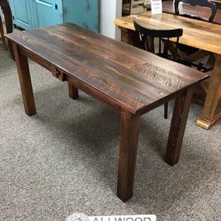 Cabin Leg Desk w/ Fleur de Lis @Baton Rouge in Stock BR-421