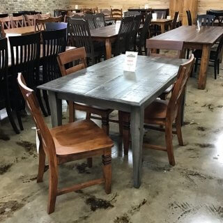 "36"" X 5' Shaker Leg Table @ Pinhook PH- 261 SOLD"