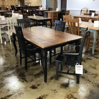 "40"" X 6' Sabre Leg Table In Stock @ Pinhook PH-252"