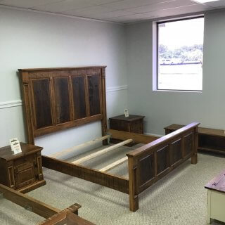 Rustic Empire King Bed @ Pinhook Sold PH-265