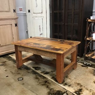 "25"" X 36"" Industrial Timber Barnwood Coffee Table @ Pinhook In Stock PH-266"