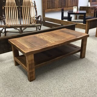 Barnwood Coffee Table @ Pinhook In Stock PH-267