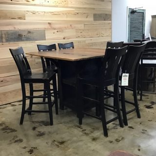 "5"" X 54"" Cajun Table W/ Storage @ Pinhook In Stock PH-279"