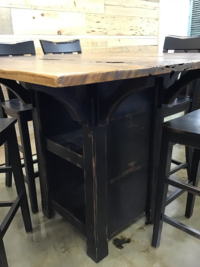 5 X 54 Cajun Table W Storage Pinhook In Stock Ph 279