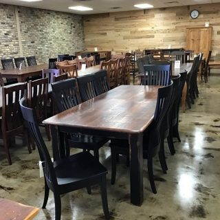 "40"" X 7' Cabin Leg Table @ Pinhook In Stock PH-284"