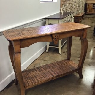 "18"" X 48"" Fleur Des Lis Sofa Table @ Pinhook In Stock PH-287"