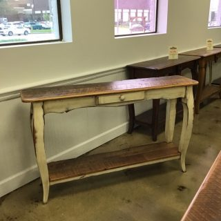 "18"" X 60"" French Sofa Table @ Pinhook In Stock PH-289"