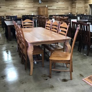 "40"" X 7' 20Th Anniversary Leg Table @ Pinhook In Stock PH-290"