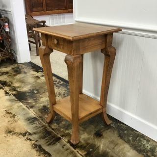 "20"" X 20"" Cabriole Leg Table@ Pinhook In Stock PH-298"