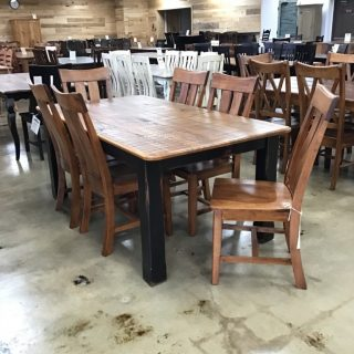 "40"" X 6' Cabin Leg Table @ Pinhook In Stock PH-303"