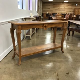 "18"" X 60"" Fleur De Lis Sofa Table @ Pinhook In Stock PH-305"