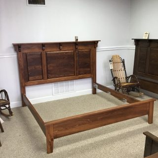 King Size Heritage Raised Panel Bed @ Pinhook In Stock PH-307