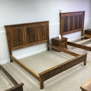 King Size Heritage Raised Panel Bed @ Pinhook In Stock PH-309