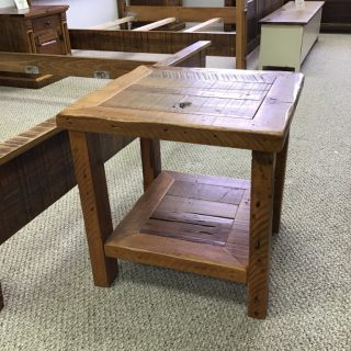 Barnwood End Table @ Pinhook In Stock PH-310
