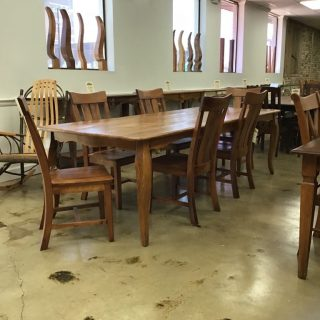 "41"" X 105"" Creole Leg Table @ Pinhook In Stock PH-315"