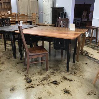 "24"" X 5' Creole Desk @ Pinhook In Stock Ph-264"