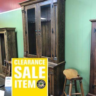 12 Gun 2 Piece Empire Cabinet @ Baton Rouge BR-4013 SOLD