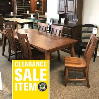 40″ x 7′ Midcentury Table @ Baton Rouge In Stock BR-4061