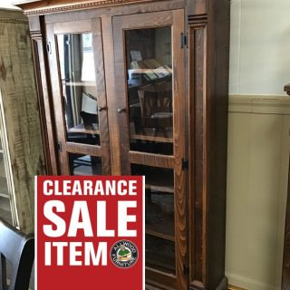 Rustic Empire Display Cabinet @ Pinhook In Stock PH-29