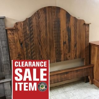 Queen Size Vintage Gustavian Bed @ Pinhook In Stock PH-335