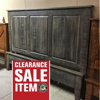 King Size Heritage Raised Panel Bed @ Pinhook In Stock PH-336