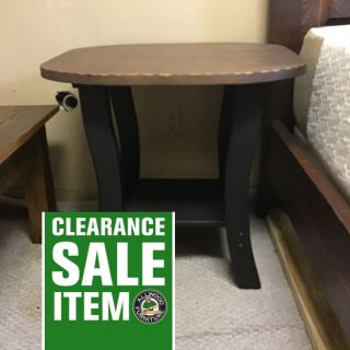 "26"" X 22"" X 25"" Amish End Table @ Pinhook In Stock Ph-338"