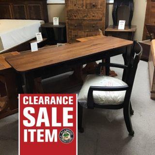 "20"" X 60"" X 30"" Creole Desk @ Pinhook In Stock PH-341"