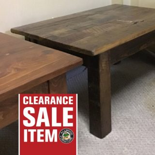 "36"" X 24"" X 18"" Barnwood Coffee Table@ Pinhook In Stock PH-343"