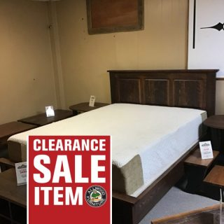 Queen Size Rustic Heritage Bed In Stock @ Pinhook In Stock PH-344