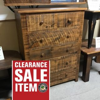 """38"""" X 20"""" X 50""""Rustic Shaker Chest Of Drawers@ Pinhook In Stock Ph-337"""