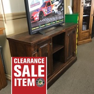 "20""X 60"" X 36"" Empire Tv Stand @ Pinhook In Stock PH- 79"