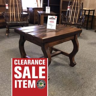 22 x 32 Ranch Style Coffee Table @ UL Store UL-64 In Stock