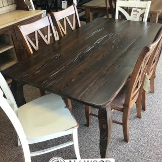"""40"""" x 6' French Leg Table @ Baton Rouge in Stock BR-427"""