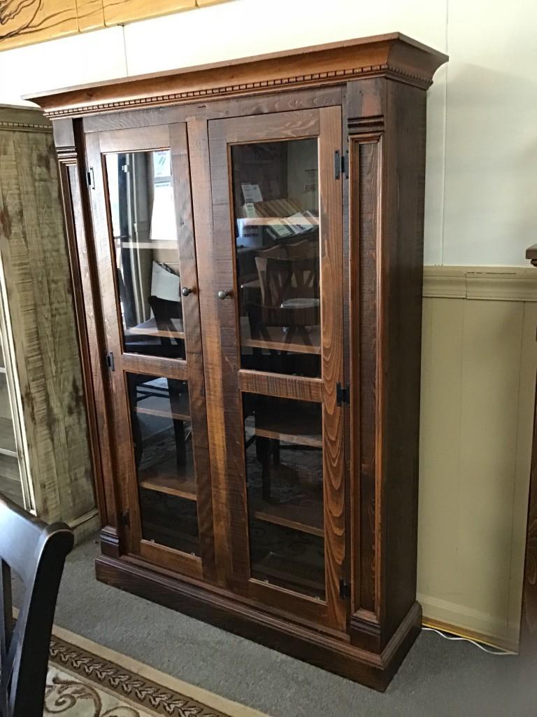 Rustic Empire Display Cabinet Pinhook In Stock Ph 29