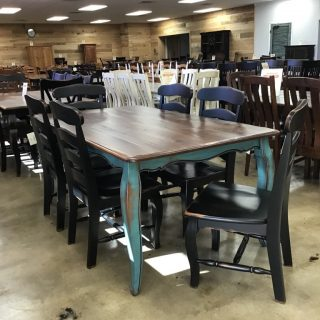 "40"" X 6' French Table @ Pinhook In Stock PH-9907"