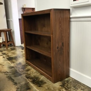 "40"" x 40"" Contemporary Bookcases @ Pinhook Sold PH-9918"