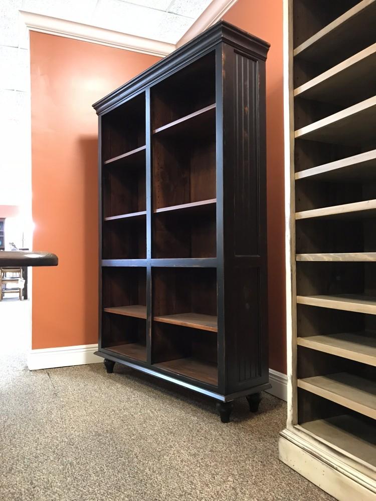 48 Quot X 72 Quot Cottage Pine Bookcase Baton Rouge Br 4011 Sold