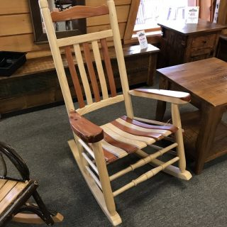 Amish Maple / Hickory Rocker @ UL Store In Stock UL-629
