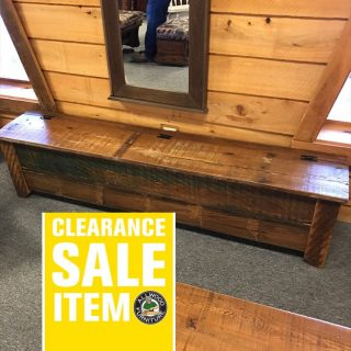 72″ Old Cypress Bench @ UL Store In Stock UL-409