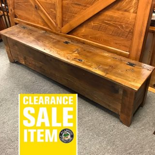 6′ Old Cypress Bench @ UL Store In Stock UL-413