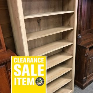 36″ x 72″ Contemporary Bookshelf @ UL Store In Stock UL-419