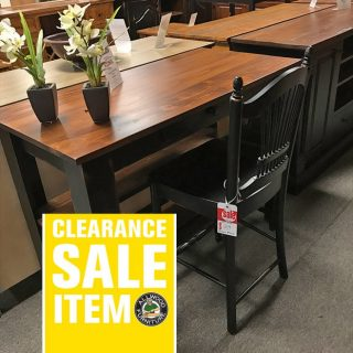 4′ Carencro Pub Desk @ UL Store In Stock UL-420