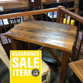 36″ Vintage X Desk @ UL Store In Stock UL-423
