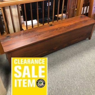 72″ Shaker Bench w/ Storage @ UL Store In Stock UL-427
