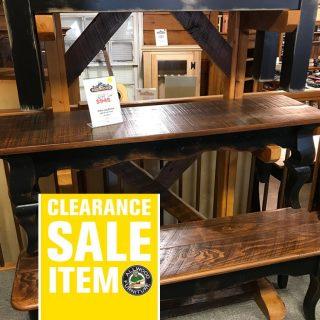 53″ Sabre Leg Bench @ UL Store In Stock UL-452