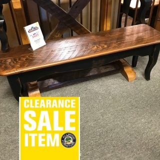 53″ Creole Bench @ UL Store In Stock UL-453