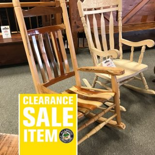 Nine Wood Amish Rocker @ UL Store In Stock UL-624
