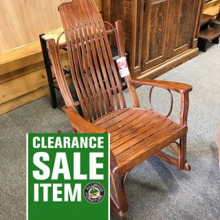 Amish Bent Oak Rocker @ UL Store In Stock UL-637