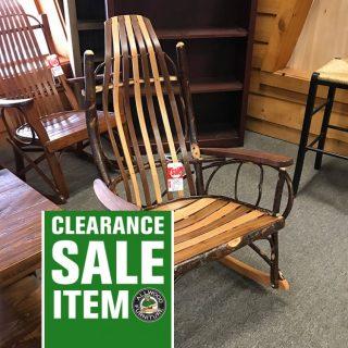 Amish Rocker @ UL Store In Stock UL-638