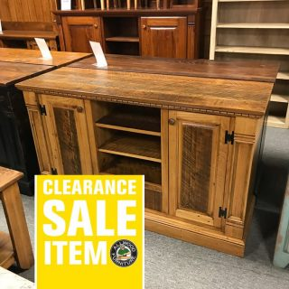 5′ Rustic Empire TV Stand @ UL Store In Stock UL-603